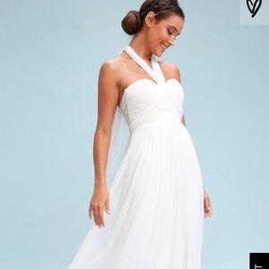 White Convertible Wedding Dress - Brand New